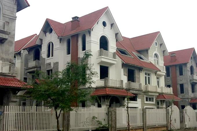 Thiết kế cải tạo biệt thự 3 tầng 95m2 tại Gleximco Dương Nội, Hà Nội - Hiện trạng công trình