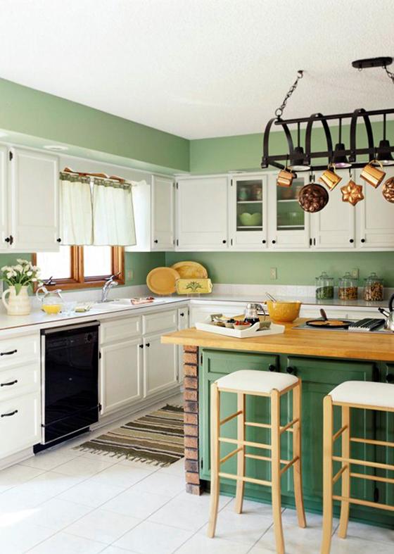 Mẫu tủ bếp cho không gian nhà đẹp -11