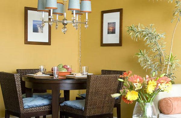 Một số mẫu phòng ăn tuyệt đẹp cho nhà đẹp - hình ảnh 2