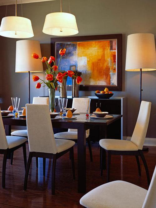 Một số mẫu phòng ăn tuyệt đẹp cho nhà đẹp - hình ảnh 3
