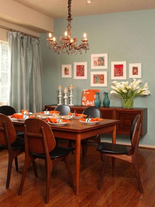 Một số mẫu phòng ăn tuyệt đẹp cho nhà đẹp - hình ảnh 4
