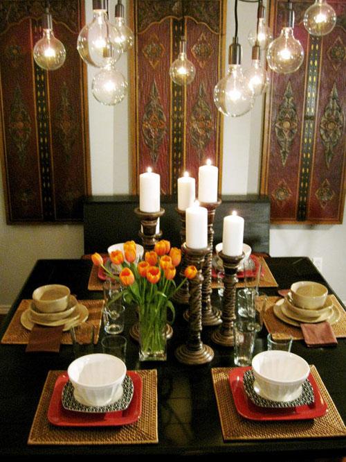 Một số mẫu phòng ăn tuyệt đẹp cho nhà đẹp - hình ảnh 8