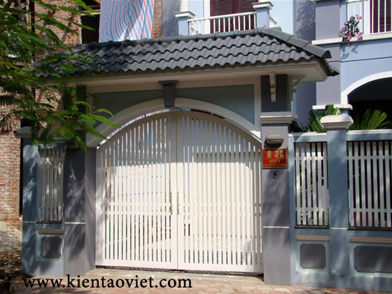 Bộ sưu tập cổng cho nhà đẹp - 18
