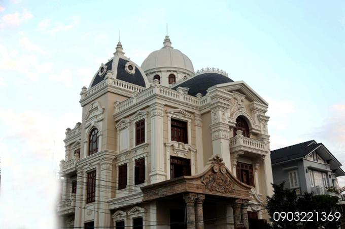 Mẫu thiết kế biệt thự đẹp cổ điển