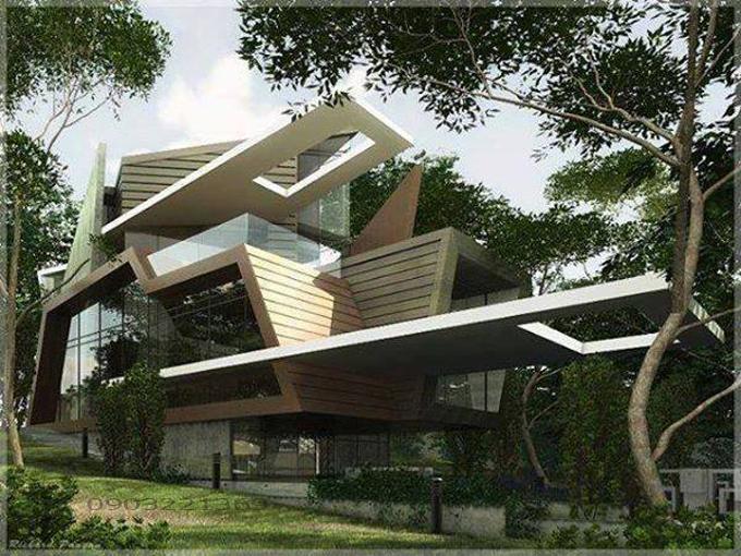 Thiết kế biệt thự hiện đại 18