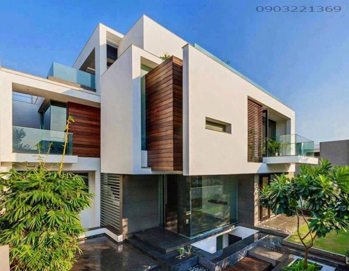 Mẫu thiết kế nhà đẹp hiện đại 19