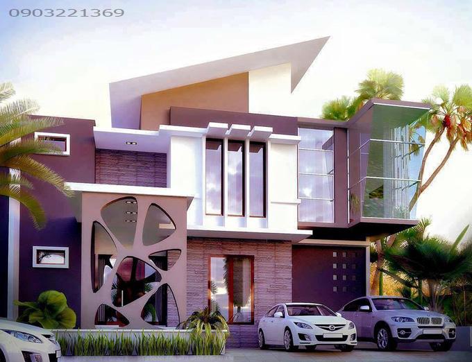 Thiết kế nhà đẹp hiện đại 31