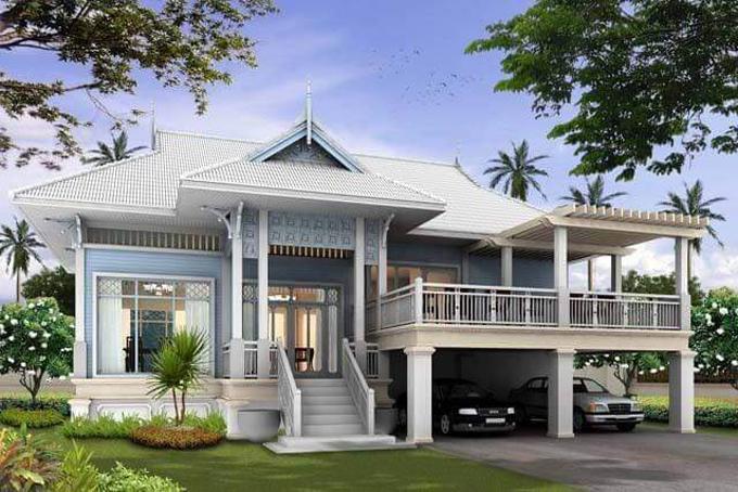 Mẫu thiết kế nhà vườn đẹp 1 đến 2 tầng 4