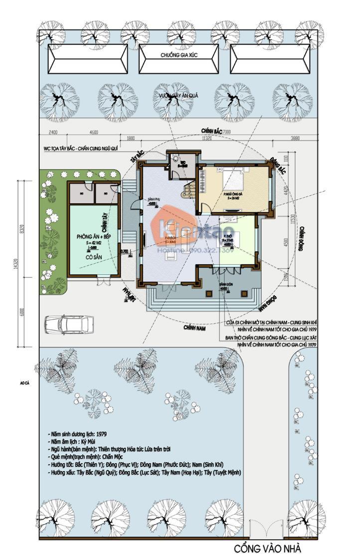 Thiết kế biệt thự 3 tầng cổ điển 1
