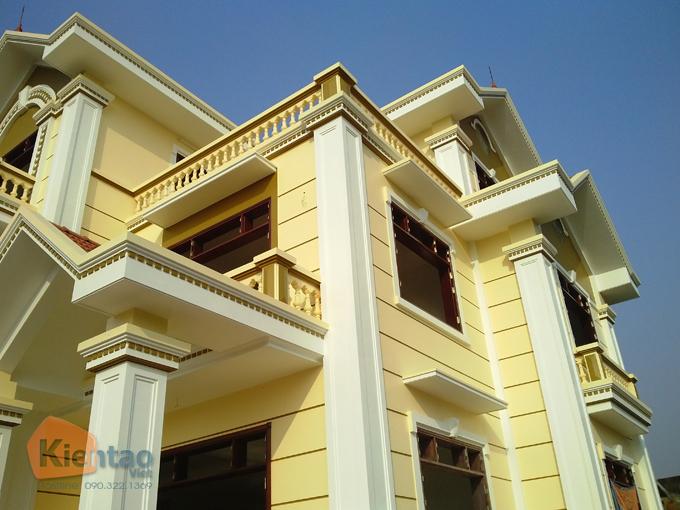 Thiết kế biệt thự 3 tầng cổ điển 7