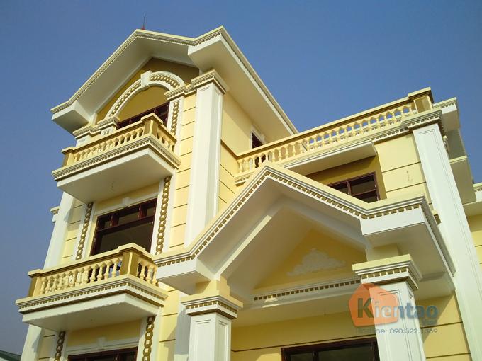 Thiết kế biệt thự 3 tầng cổ điển 8