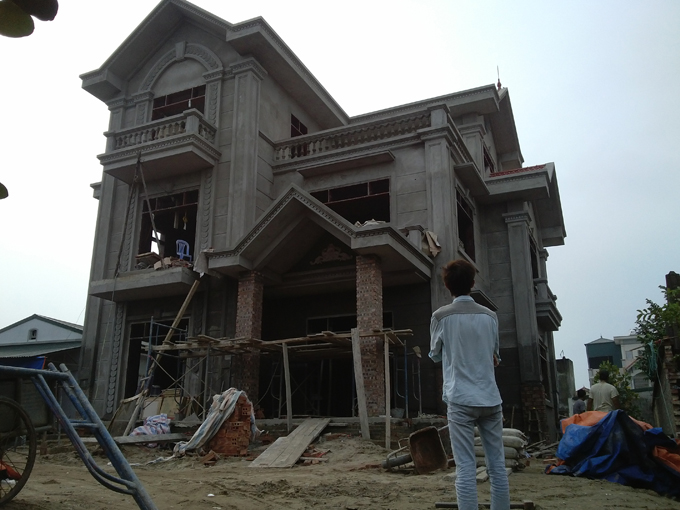 Thiết kế biệt thự 3 tầng cổ điển 9