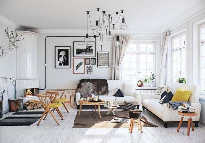 Bố trí nội thất khi thiết kế biệt thự 3