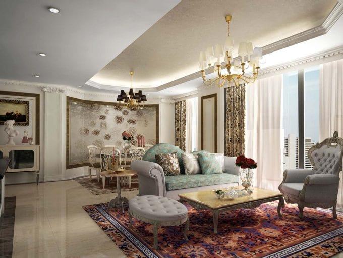 Bố trí nội thất khi thiết kế biệt thự 4