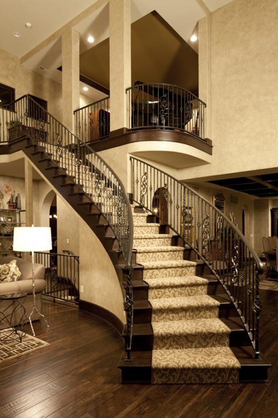Mẫu cầu thang nhà đẹp - 05