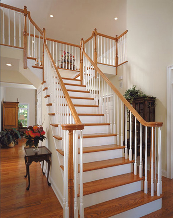Mẫu cầu thang nhà đẹp - 16