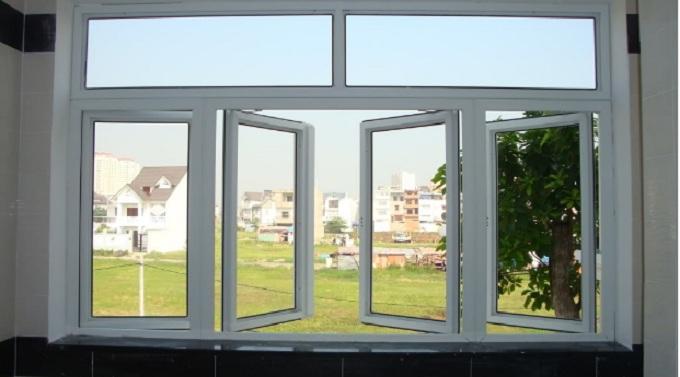 kích thước cửa sổ 4 cánh theo phong thủy