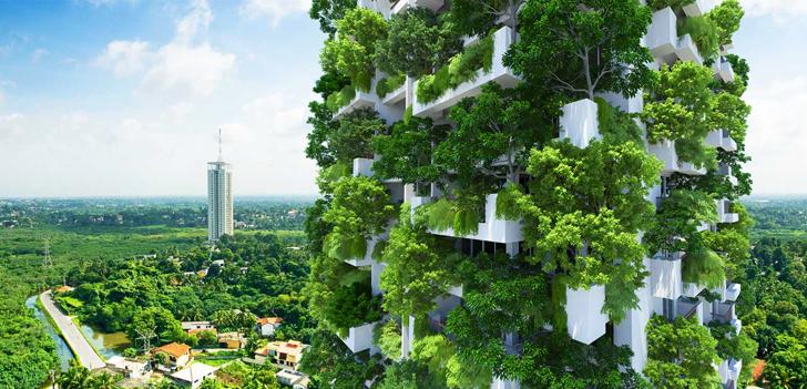 kiến trúc nhà xanh cao nhất thế giới 2