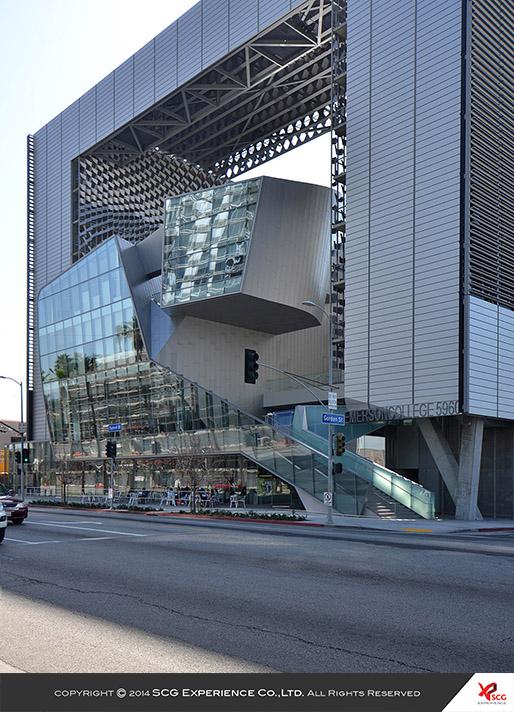Kiến trúc trường Cao đẳng Emerson Los Angeles - 2