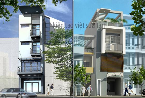 mẫu thiết kế nhà lô phố 12