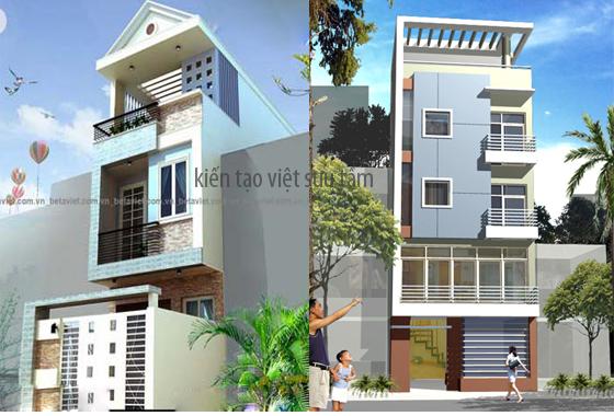 thiết kế nhà lô phố đẹp 19