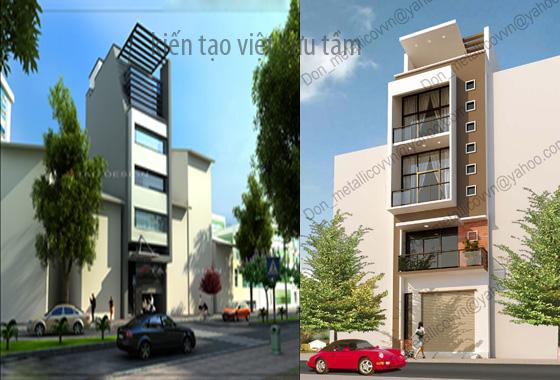 mẫu thiết kế nhà lô phố 8