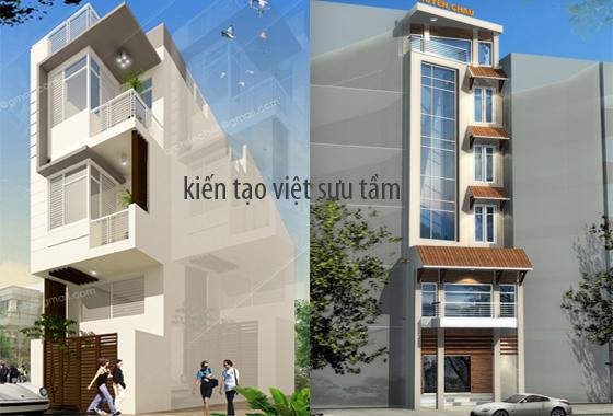 mẫu thiết kế nhà lô phố 9
