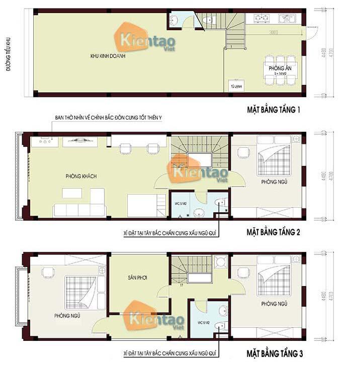 Thiết kế nhà đẹp tại Hà Nội 3 tầng tân cổ điển