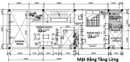 mẫu thiết kế nhà ống đẹp 3 tầng