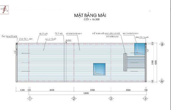 Mẫu thiết kế nhà ống đẹp 5 tầng 50m2g