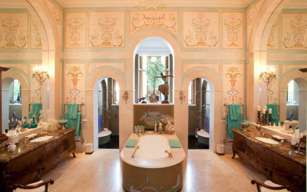 Mẫu thiết kế nội thất đẹp phòng tắm triệu đô. Ảnh 01