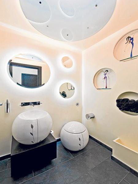 Mẫu thiết kế nội thất đẹp phòng tắm triệu đô. Ảnh 12