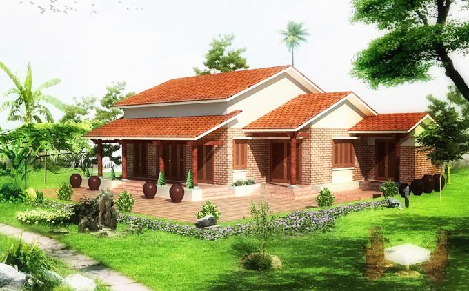 Những mẫu thiết kế nhà vườn đẹp nhỏ xinh - Ảnh 04
