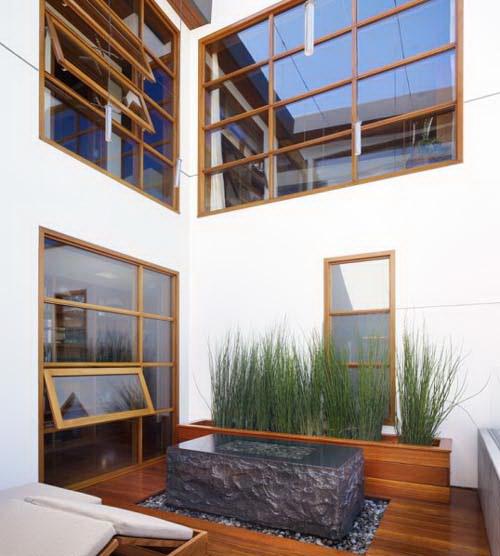 Phối kết kính gỗ trong thiết kế nội thất đẹp. Ảnh 03