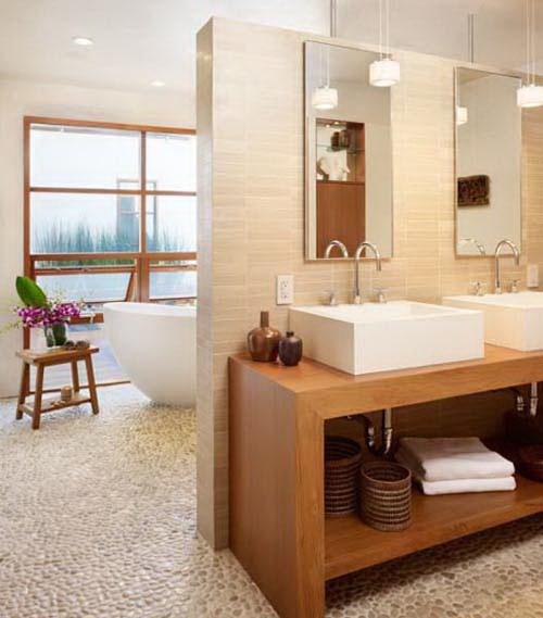Phối kết kính gỗ trong thiết kế nội thất đẹp. Ảnh 04