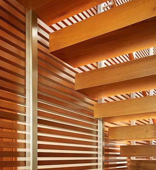 Phối kết kính gỗ trong thiết kế nội thất đẹp. Ảnh 06