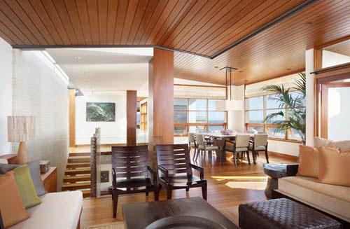 Phối kết kính gỗ trong thiết kế nội thất đẹp. Ảnh 09