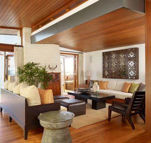 Phối kết kính gỗ trong thiết kế nội thất đẹp. Ảnh 10