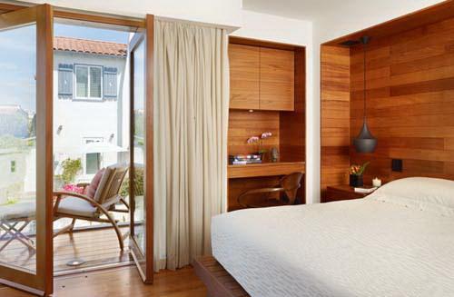 Phối kết kính gỗ trong thiết kế nội thất đẹp. Ảnh 11