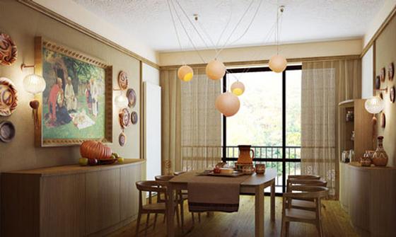Mẫu phòng ăn nhà đẹp - 11