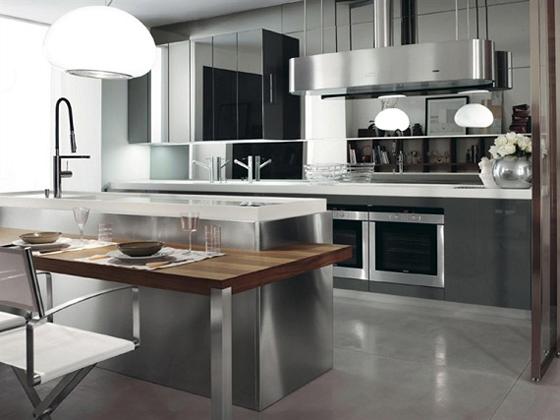 Mẫu tủ bếp cho không gian nhà đẹp -02