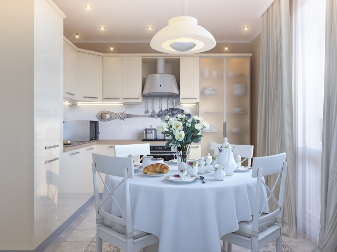 Mẫu phòng ăn nhà đẹp - 12
