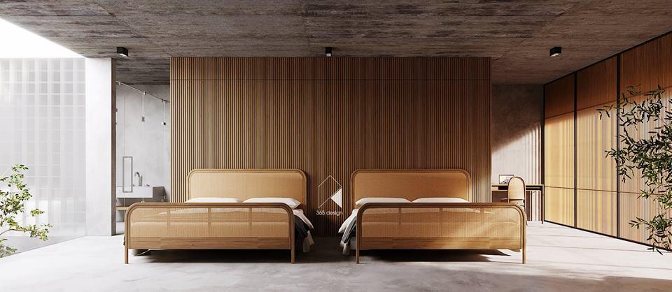 Thiết kế biệt thự 2 tầng đẹp như resort tại Đan Phượng 10