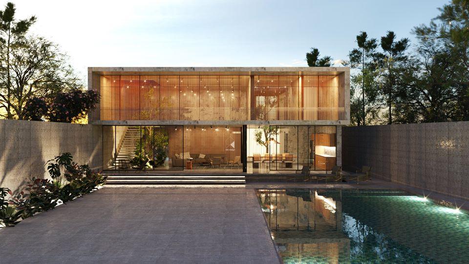 Thiết kế biệt thự 2 tầng đẹp như resort tại Đan Phượng 2