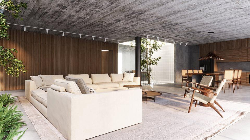 Thiết kế biệt thự 2 tầng đẹp như resort tại Đan Phượng 5