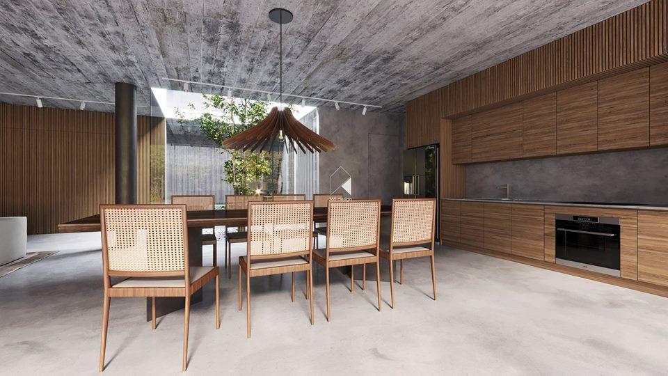 Thiết kế biệt thự 2 tầng đẹp như resort tại Đan Phượng 6