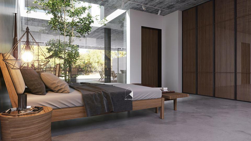 Thiết kế biệt thự 2 tầng đẹp như resort tại Đan Phượng 9