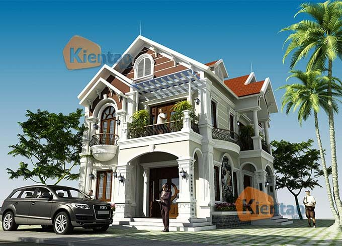 Thiết kế biệt thự tại Hải Dương