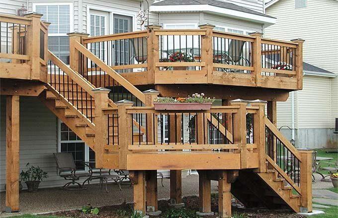 Thiết kế cầu thang ngoài trời