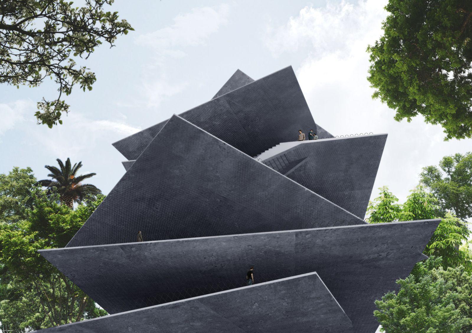 Thiết kế cho tòa nhà mới ở mexico 2